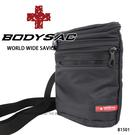 黑色防水機能小側背包/腰包  AMINAH~【BODYSAC B1501】