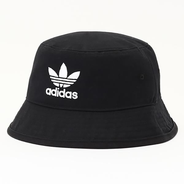 【現貨】ADIDAS Originals Bucket Hat 帽子 漁夫帽 流行 休閒 三葉草 刺繡 黑【運動世界】AJ8995