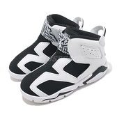 Nike 籃球鞋 Jordan 6 Retro Little Flex 白 黑 六代 喬丹 小童 童鞋 【ACS】 CT4417-100