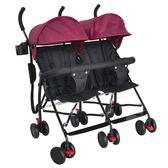 【全館八九折】雙胞胎嬰兒手推車可坐超輕便摺疊雙人車輕便二胎神奇便攜兒童小車