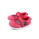Disney Minnie Mouse 迪士尼 米妮 娃娃鞋 室內鞋 中童 童鞋 深粉紅 D120444 no023