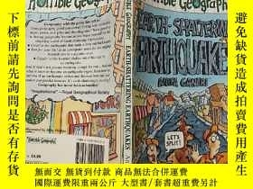二手書博民逛書店Earth—Shattering罕見Earthquakes:驚天動地的地震Y200392