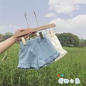 女寶寶短褲薄款外穿牛仔夏季小童【奇趣小屋】