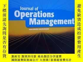 二手書博民逛書店Journal罕見of Operations Managemen