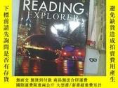 二手書博民逛書店READING罕見EXPLORER 4 閱讀探險家4 *(B03