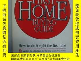 二手書博民逛書店First罕見Home Buying GuideY85718 H