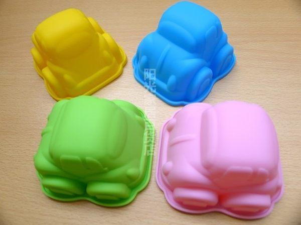 [協貿國際]  矽膠蛋糕模具小汽車模具  2個價