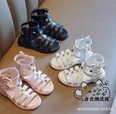 女童涼鞋 2020新款網紅時尚女童公主鞋夏季羅馬鞋軟底小女孩鞋子 OB8615
