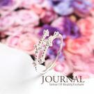 925純銀 雅緻花鑽排列 戒指 尾戒 關節戒_質物日誌Journal