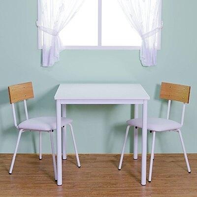 餐桌/工作桌/日式餐桌/白色方形餐桌(無椅) Dining Table 日系木作 MIT台灣製【5984】Tasteful 特斯屋