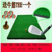 交換禮物室內高爾夫球打擊墊揮桿練習器擊打毯個人切桿訓練球墊 LX 貝芙莉