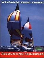 二手書博民逛書店 《Accounting Principles, with CD, 6th Edition》 R2Y ISBN:0471382280│JerryJ.Weygandt