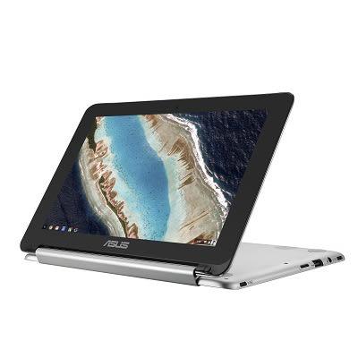 ASUS Chromebook C101PA 翻轉觸控筆電(C101PA-0023JRK3399) 福利品 送滑鼠+鼠墊+保護套