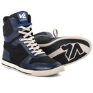 【東門城】V'QUATTRO TWITCH SEVEN 經典重現款車靴(黑藍)