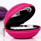 【GK333】耳機收納包-尼龍 硬殼耳機盒 耳機包 零錢包 充電線收納包★EZGO商城★