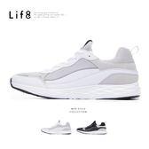 Sport 異材質 流線型設計運動鞋【09889】