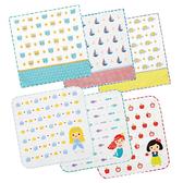 貝柔 純棉抗菌紗布小方巾 單入(6款可選 顏色隨機出貨)手帕