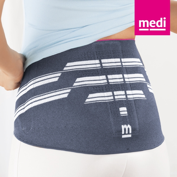 medi 專業醫療護具 加強型按摩加墊帶-淑女 (銀色、I~V ) 德國進口【杏一】