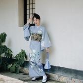限時賞味和風新款少女日本浴衣溫柔復古日系改良莫蘭迪色和服 【ifashion·全店免運】