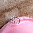 ✭米菈生活館✭【P422】不銹鋼臉盆掛勾 浴室 衛生間 無痕 免釘 黏勾 牆壁 吸盤 掛臉盆架