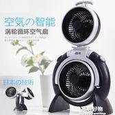 空氣循環扇智慧台式循環電風扇辦公家用靜音落地扇日本渦輪空氣對流扇 igo陽光好物