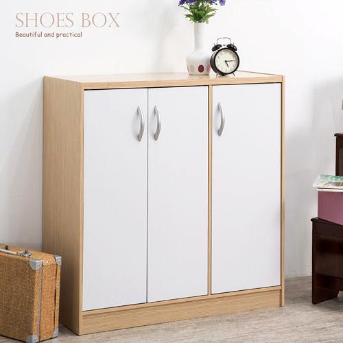 鞋櫃 鞋架 收納【收納屋】多功能三門鞋櫃&DIY組合傢俱