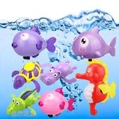 沙灘玩具-嬰兒童戲水玩具寶寶浴室洗澡盆游泳池沙灘水上動物套裝漂浮 流行花園
