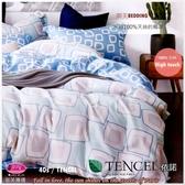 御芙專櫃『依諾』5*6.2尺*╮☆100%天絲棉40支/七件套床罩組/雙人