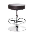 GXG 圓凳款 工作椅 (金屬圓盤+踏圈...