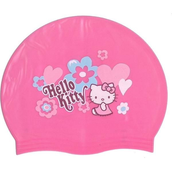 泳帽 成功SUCCESS A661 KITTY兒童矽膠泳帽【文具e指通】量販.團購
