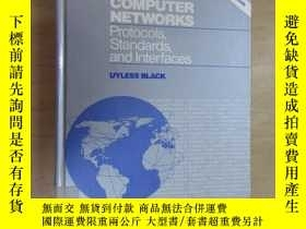 二手書博民逛書店英文書罕見COMPUTER NETWORKS Protocols