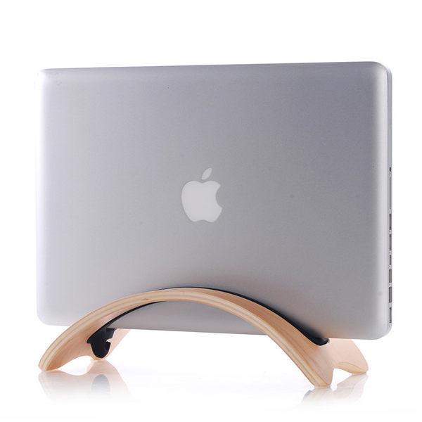 【00563】 [Macbook Air / Pro] samDi陞迪 筆記型電腦支架 實木電腦支架 展示架
