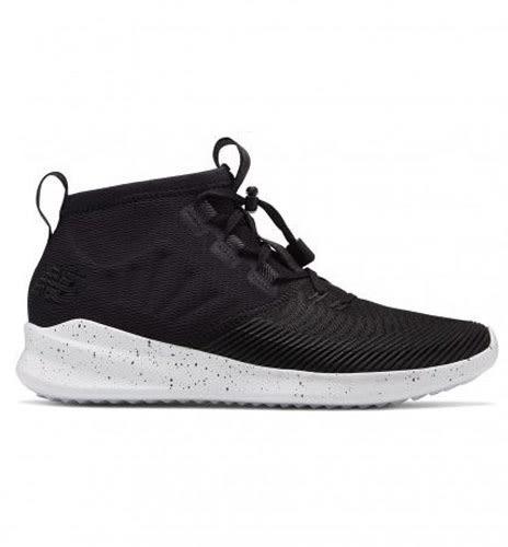New Balance 男鞋 慢跑 快速抽繩鞋帶 輕量 透氣 網布 襪套 黑 白【運動世界】MSRMCBW