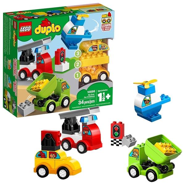 【愛吾兒】LEGO 樂高 duplo得寶系列 10886 我的第一套創意汽車組合