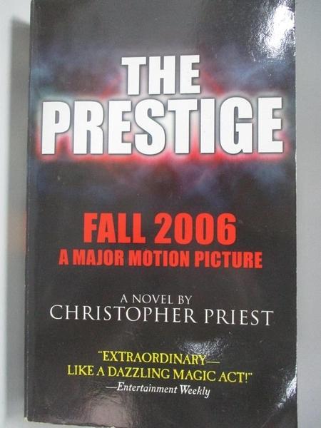 【書寶二手書T1/原文小說_ACD】The Prestige Movie Tie In_Priest, Christopher