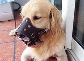 狗嘴套防咬防叫口罩中大型犬寵物止吠器防亂吃金毛薩摩耶阿拉斯加 卡布奇诺
