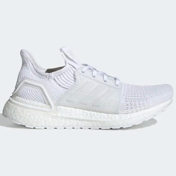 Adidas ULTRABOOST 19 女鞋 慢跑 襪套 避震 針織 透氣 輕量 白【運動世界】 G54015