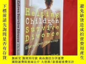 二手書博民逛書店Helping罕見Children Survive Divorc