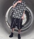 找到自己 時尚潮流 男 日系 酷炫 驅逐印字 寬鬆 短袖T恤 圓領上衣短T 設計品牌短袖