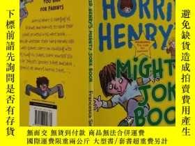 二手書博民逛書店horrid罕見henry s mighty joke book 可怕的亨利的大笑話書Y200392