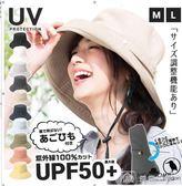 UV遮陽帽遮臉出游海邊可折疊盆帽  娜娜小屋