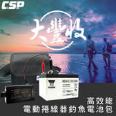 釣魚用電池包 REC12V15AH電池+配件組(REC15-12)