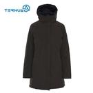 TERNUA 女GTX防水透氣連帽保暖長外套1643046 ( 登山 露營 旅遊健行 風衣防水 )