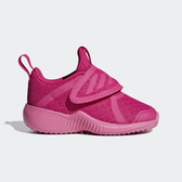ADIDAS FortaRun X CF I [D96961] 小童鞋 運動 休閒 跑步 透氣 網布 魔鬼氈 保護 桃紅