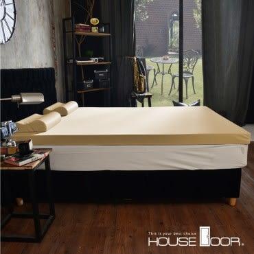 House Door 抗菌防螨布套 8cm乳膠記憶床墊-雙人5尺(璀璨金)