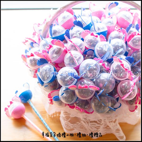 史迪奇米果巧克力糖果原子筆棒(2色可選)-情人節/慶生/婚禮小物/創意糖果/迪士尼婚禮主題/二進