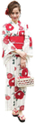 Nishiki【日本代購】和式浴衣+束腰...