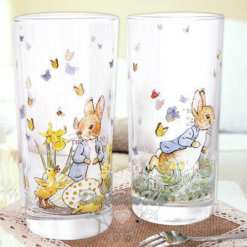 彼得兔玻杯子玻璃杯420ML蝴蝶結多圖209280通販屋