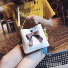 迷你水桶包包女百搭斜挎包時尚簡約單肩手提小包『小宅妮時尚』