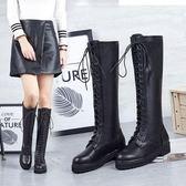 女鞋長靴子女冬高靴馬丁靴厚底女靴